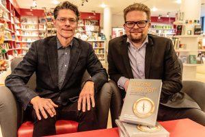jimmy og martin forfattere til ny bog