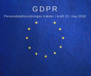 eu flag med GDPR