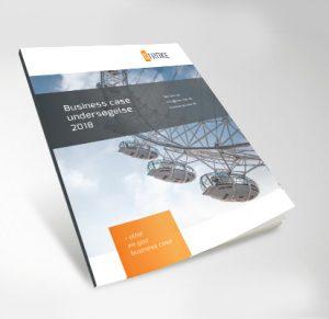 hæfte med business case undersøgelse 2018